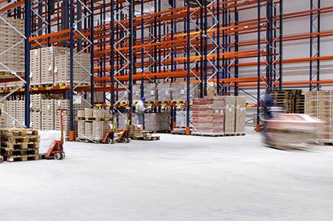 magazijn betonvloer